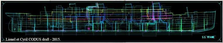 Le Piping Plan Titanic Numéro 401
