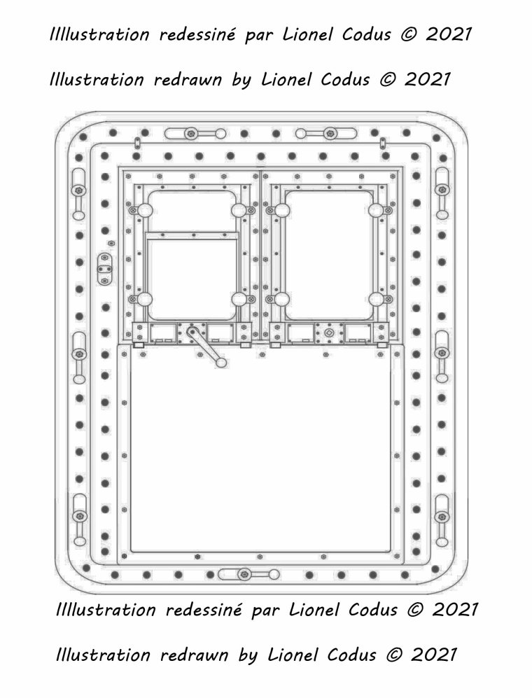Hello everyone, here is my illustration of the first class entrance door of the Titanic.  Bonjour à tous le monde, voici mon illustration de la porte d'entrée première classe du  du Titanic.