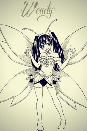 Quelques filles de fairy tail