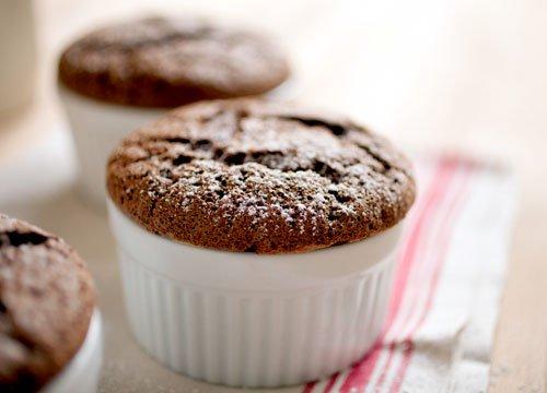 Souffés au chocolat