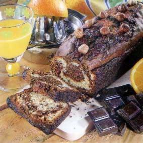 Marbré chocolat et noisette