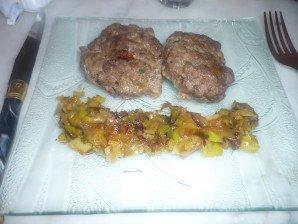 crépinette de veau à la fondue de poireaux