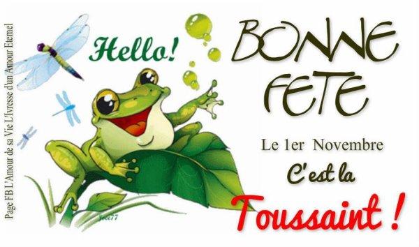 A VOUS TOUS,ET TOUTES,BONNE FETE DE LA TOUSSAINT !!!!!!!!