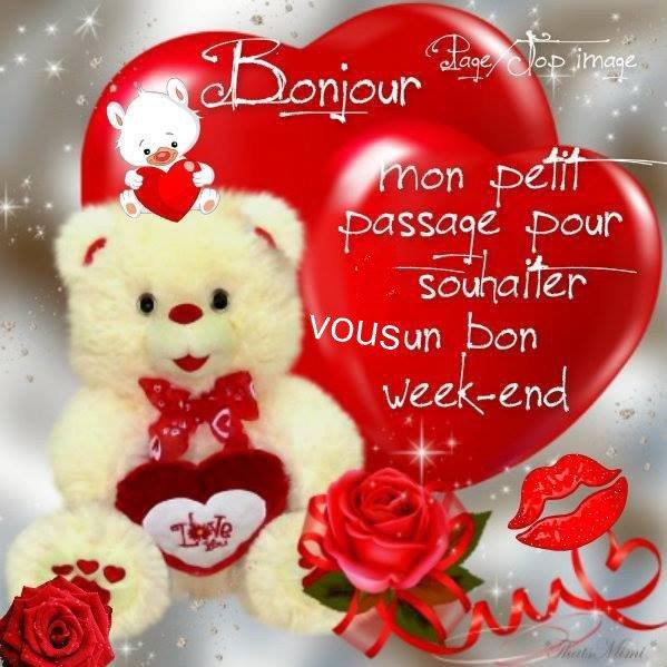 A VOUS TOUS,ET TOUTES,BON WEEK-END,ET BONNE JOURNEE DE SAMEDI !!!!!!!