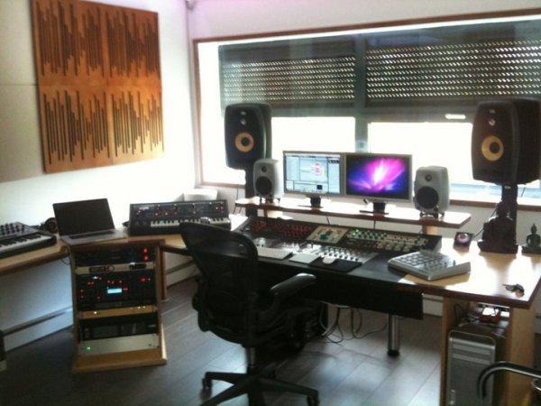 studio d'enregistrement de headhunterz