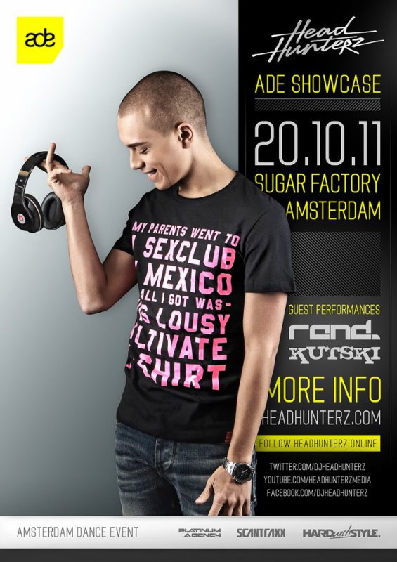 headhunterz showcase