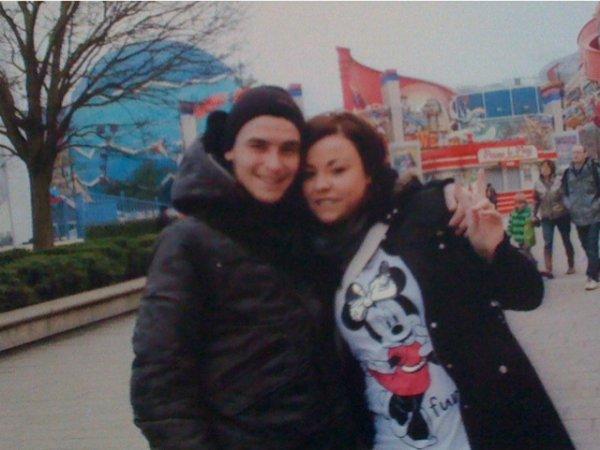 moi et mon Cheria Disneyland Paris