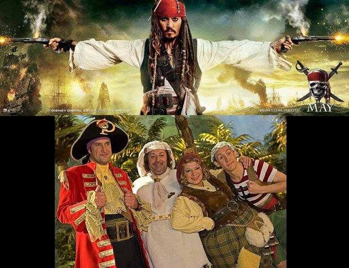 Sparrow and Piraat