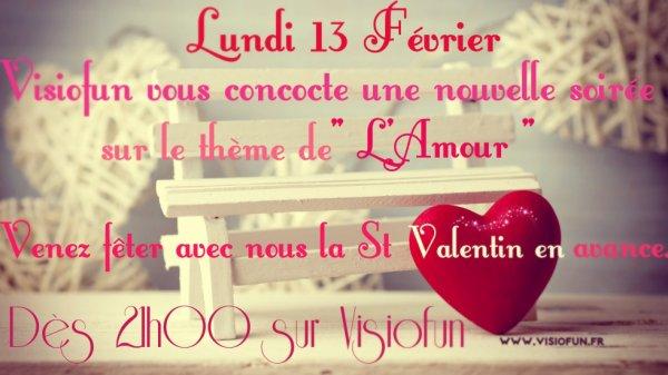 St Valentin sur Visiofun Lundi 13 Janvier