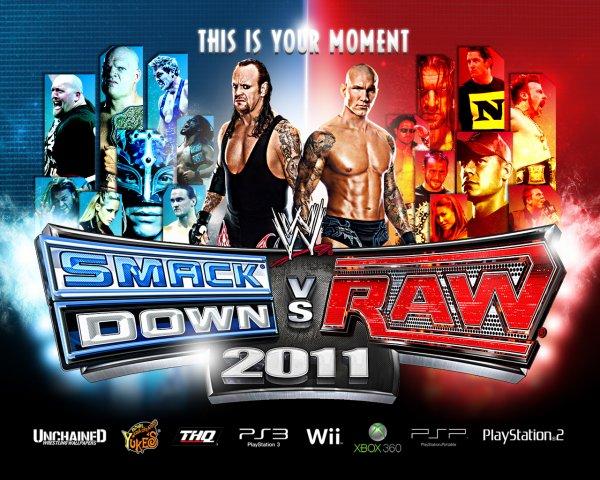 WWE New Wallpaper WWE Smackdown vs. Raw 2011 !!!