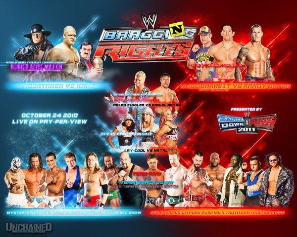 WWE New Wallpaper Bragging Rights 2010 !!!