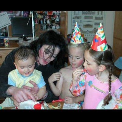 Michael et ses enfants