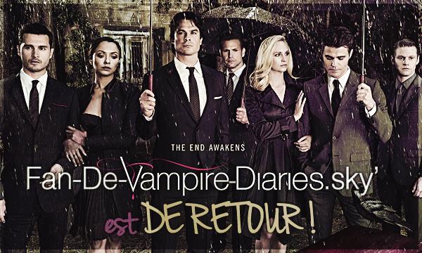 Bienvenue sur Fan-De-Vampire-Diaries.skyrock.com !
