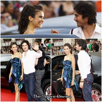 19 Juin 2011 ▬ Nina Dobrev, Ian Somerhalder et Katherina Graham été au MMVA.