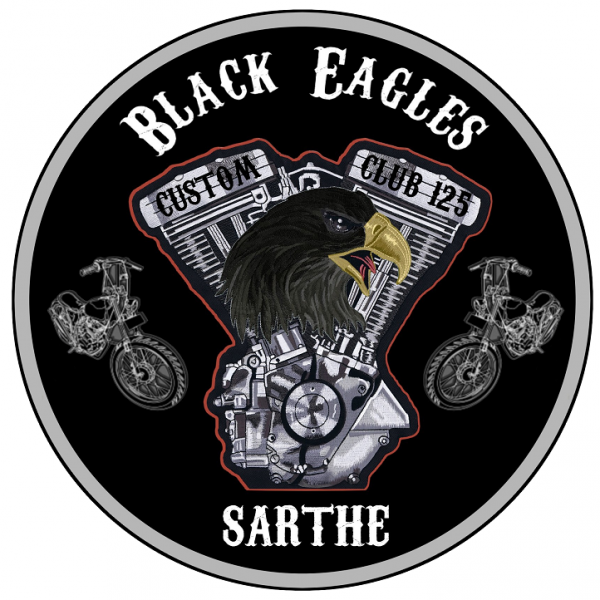 < THE BLACK EAGLES>