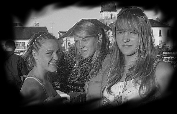 Louise ♥ Mathilde ♥ Claudine