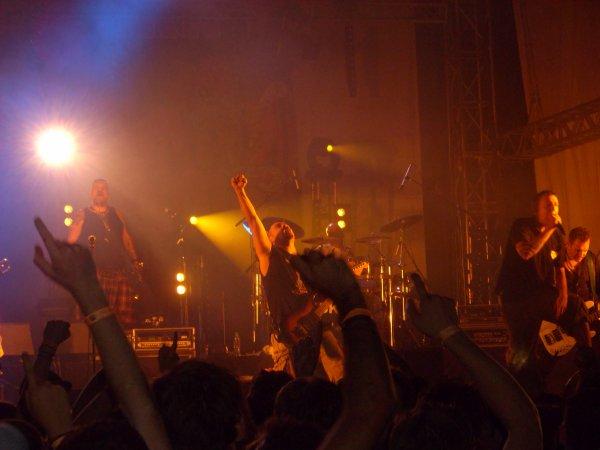 Mythique concert de SKA-P !! =D