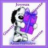 Merci à mon amie Marion pour mon anniversaire! je n'ai plus beaucoup d'amies sur ma page! Absente! on te balaie ! Pas grave !Celles qui sont restés pour moi ! Merci ! bisous! ginette!