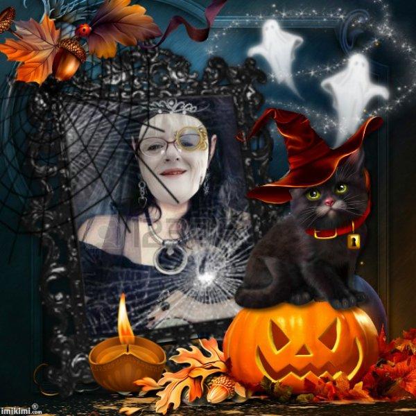 Joyeux Halloween! a tous! bisous !  Ginette!