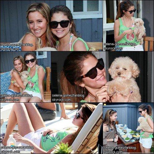 Selena à la fête d'anniversaire d'Ashley Tisdale !