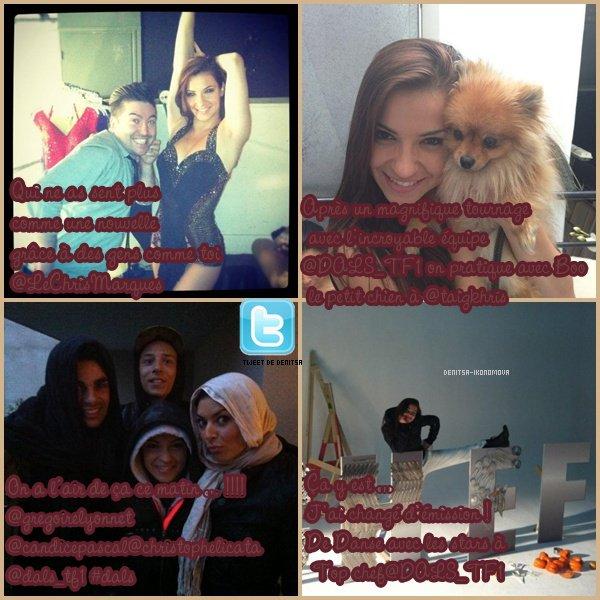 Twitter de Denitsa Ikonomova et Facebook de TAIG KHRIS