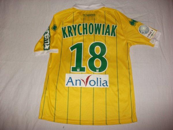 Saison 2011 - 2012 : Maillot porté par Grzegorz Krychowiak.