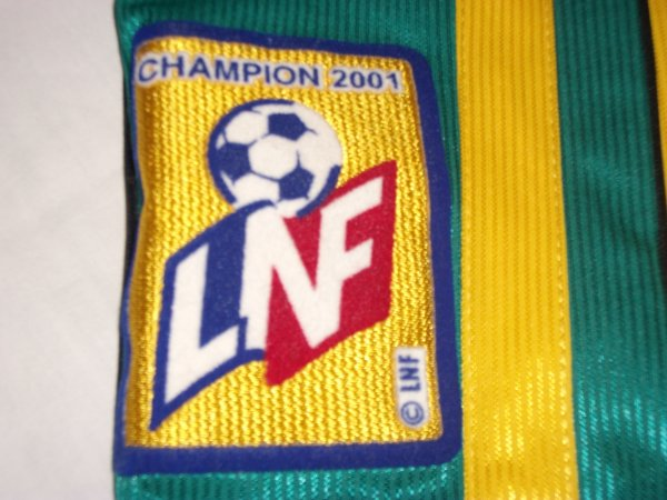 Le patch de la LNF Champion de France 2001.