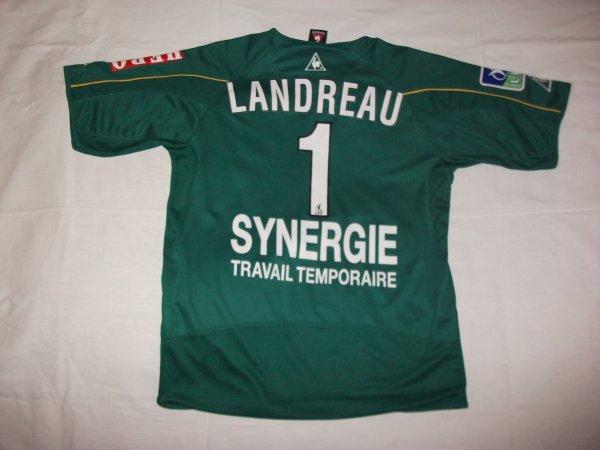Saison 2002 - 2003 : Maillot porté à l'extérieur par Mickaël Landreau.