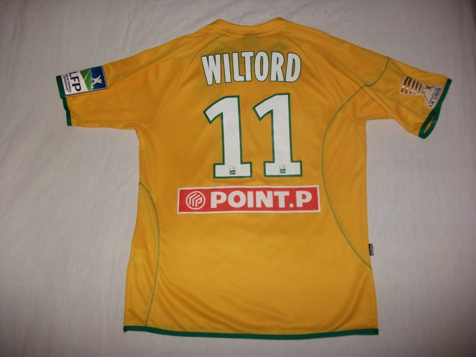 Ma collection de maillots portés du FC Nantes.