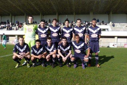 Effectif CFA Girondins saison 2011-2012