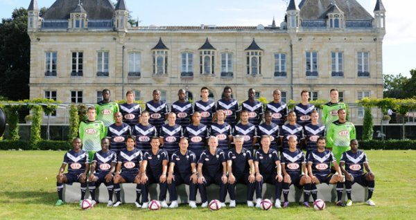 Effectif Girondins saison 2011/2012