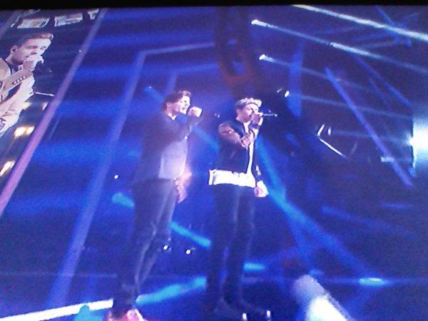 Liam, Louis et Niall pendant SOML