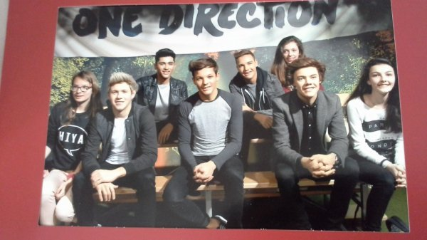 One Direction at Madame Tussaud's Museum with me !!