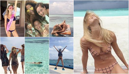 .  Bar Refaeli a posté une avalanche de photos sur  INSTAGRAM  pour notre plus grand plaisir! Le mannequin israélien nous fait partager ses vacances de luxe aux Maldives et le recommencement d'X-Factor en Israël en tant qu'animatrice!  refaeli.skyrock.com .