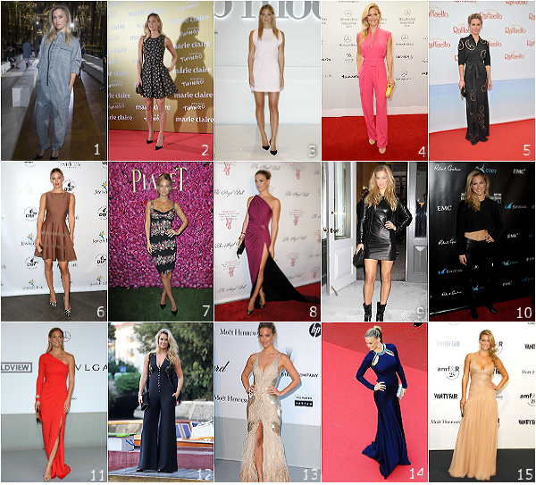 .  Quelques robes de Bar Refaeli sur le red carpet !refaeli.skyrock.com .