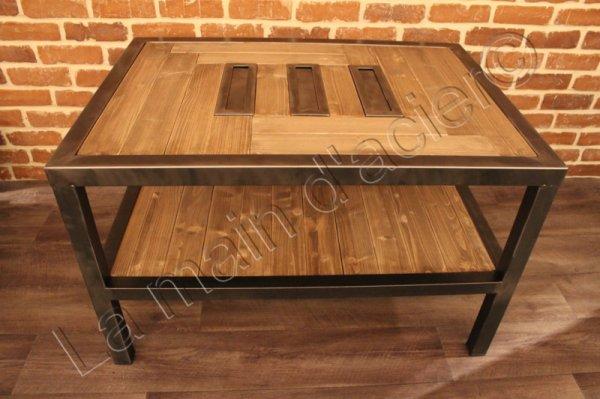 Table Basse Usine La Main D Acier