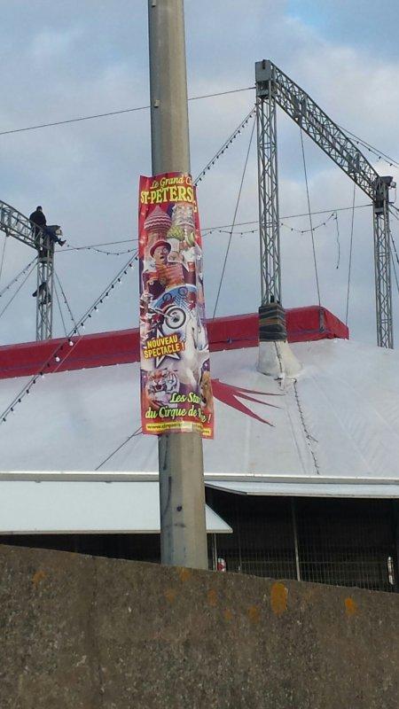 Le Cirque de st Pétersbourg  a saint brevin