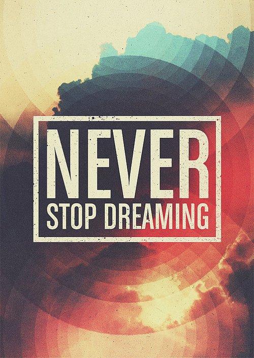 N'arretez pas de rêver... (l)