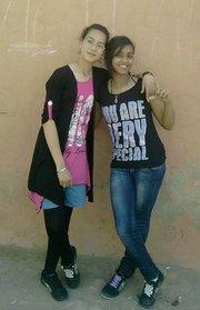 moi et mon amie hajarita !!!!!