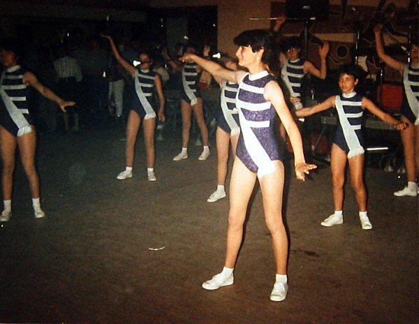 c'est avec une nouvelle tenue,une prestation chez nos amis de la fanfare de Kesselheim (Allemagne) juin 1984;