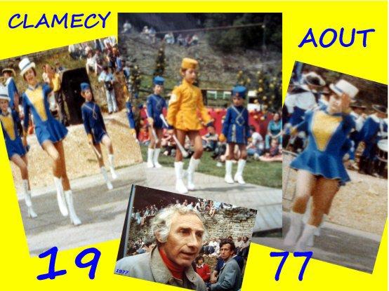 Fête de l'Andouille à Clamecy (58) 1977
