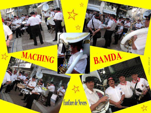 """MACHING BAMDA"""