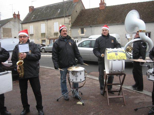 Samedi matin 8 décembre 2012 au téléthon de Challuy!