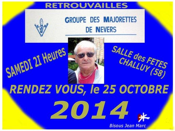 RETROUVAILLES DES MAJORETTES DE NEVERS (1974 à 1984)