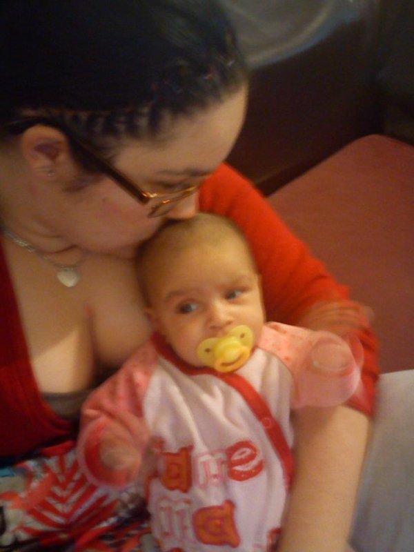 ma fille et sa petite princesse