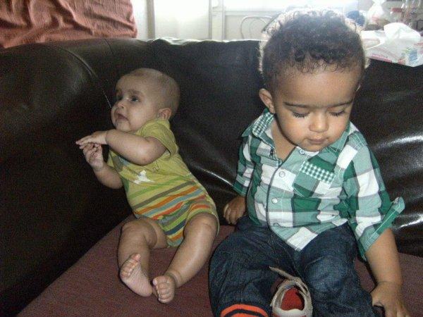 mes deux bébé d'amour