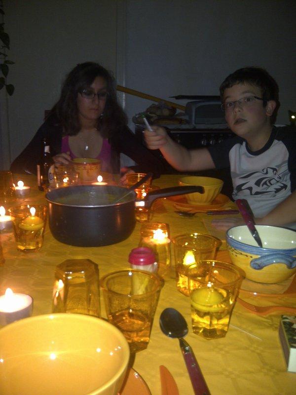 ma nièce & c copine & mon neveu  pour Halloween