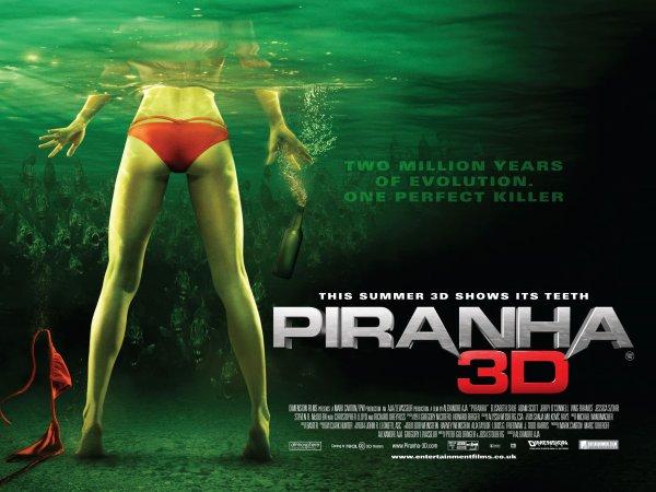 Piranha 3d by Alexandre Aja