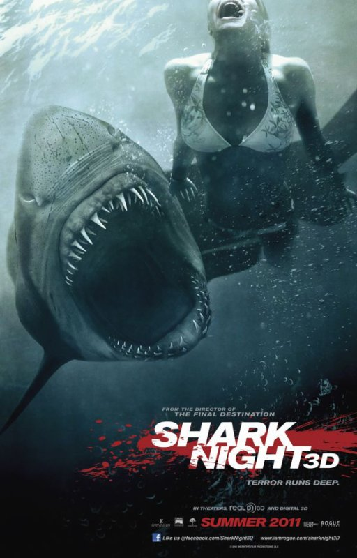 Shark Night 3D : Le Poster