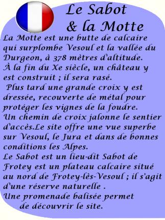Le sabot & la Motte